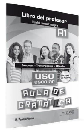 Uso escolar aula de gramática klíč + CD (A1) : 9788490812068