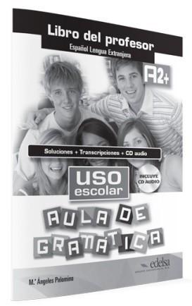 Uso escolar aula de gramática klíč + CD (A2) : 9788490812075