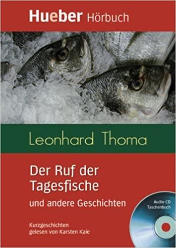Lesehefte DaF Der Ruf der Tagesfische und andere Geschichten Leseheft + CD