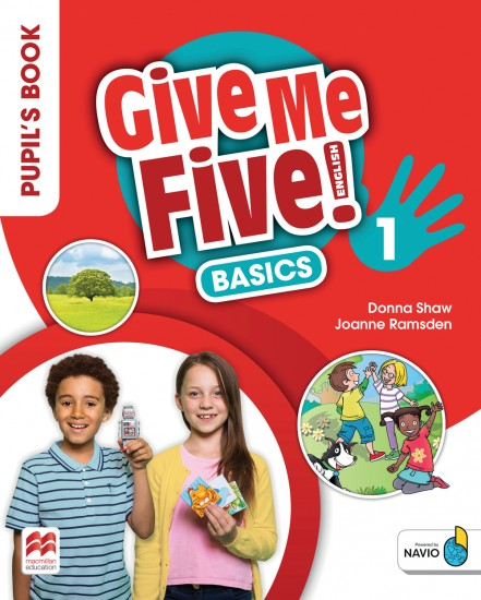 Give Me Five! Level 1 Pupil´s Book Basics Pack