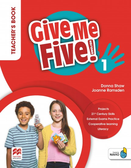 Give Me Five! Level 1 Teacher´s Book Pack