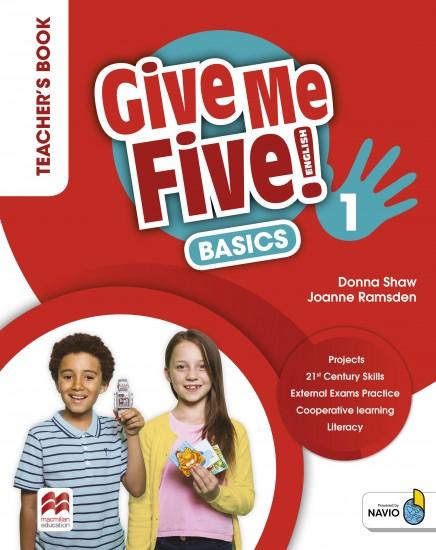 Give Me Five! Level 1 Teacher´s Book Basics Pack