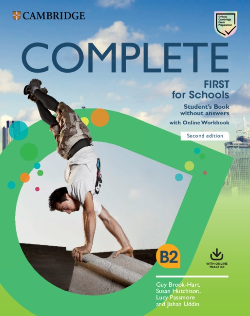 Complete First for Schools (2nd Edition) Student´s Book without Answers with Online Workbook