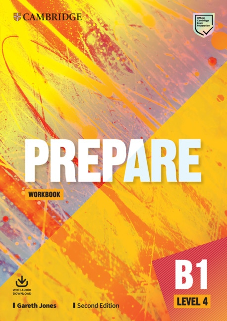 Prepare (2nd Edition) 4 Workbook with Audio Download