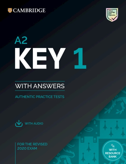 A2 Key (KET) (2020 Exam) 1 Student´s Book Pack (Student´s Book with Answers & Audio Download) : 9781108694636