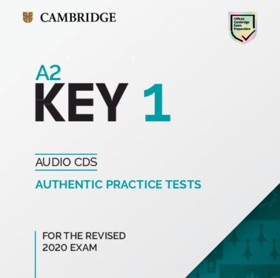 A2 Key (KET) (2020 Exam) 1 Audio CD