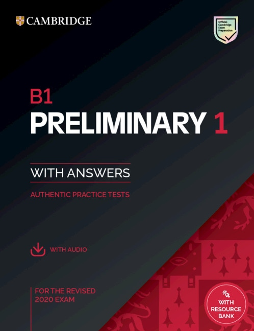B1 Preliminary (PET) (2020 Exam) 1 Student´s Book Pack (Student´s Book with Answers & Audio Download)