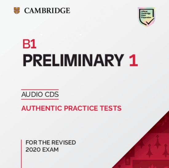 B1 Preliminary (PET) (2020 Exam) 1 Audio CD