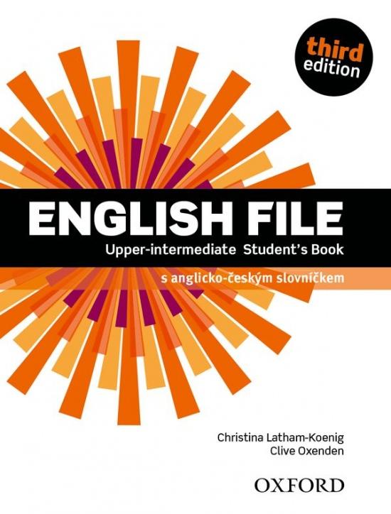 English File Upper-Intermediate Third Edition Student´s Book (Czech Edition)