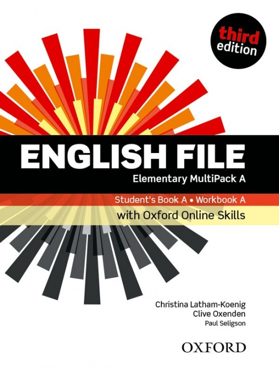 English File Elementary (3rd Edition) Student´s Book/Workbook MultiPack A with Oxford Online Skills
