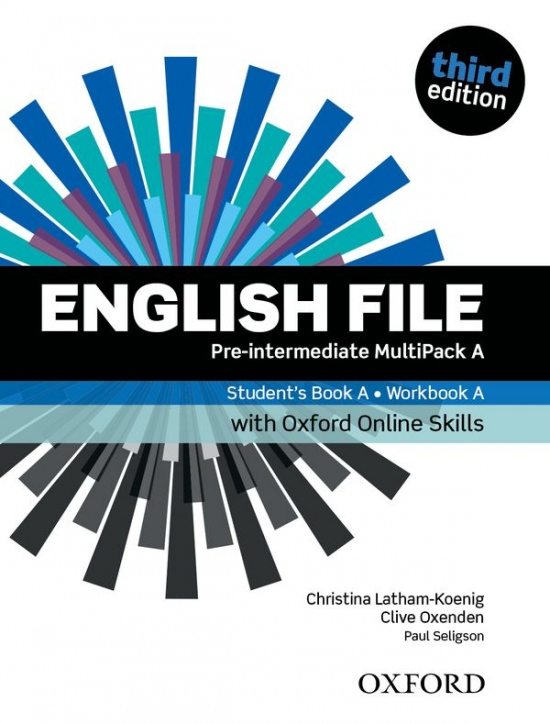 English File Pre-Intermediate (3rd Edition) Multipack A with Oxford Online Skills