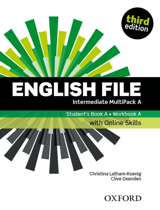 English File Intermediate (3rd Edition) Multipack A with Online Skills