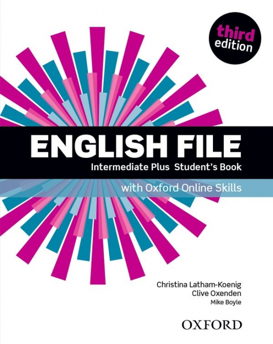English File Intermediate Plus (3rd Edition) Student´s Book with Online Skills