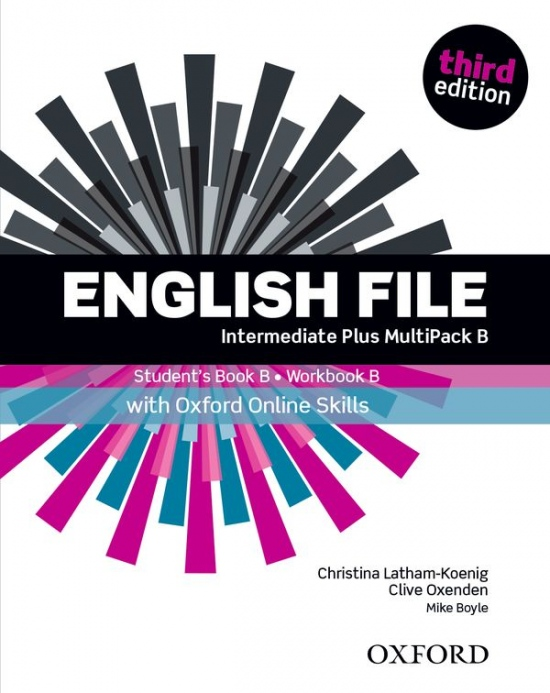 English File Intermediate Plus (3rd Edition) Multipack B with Online Skills Practice