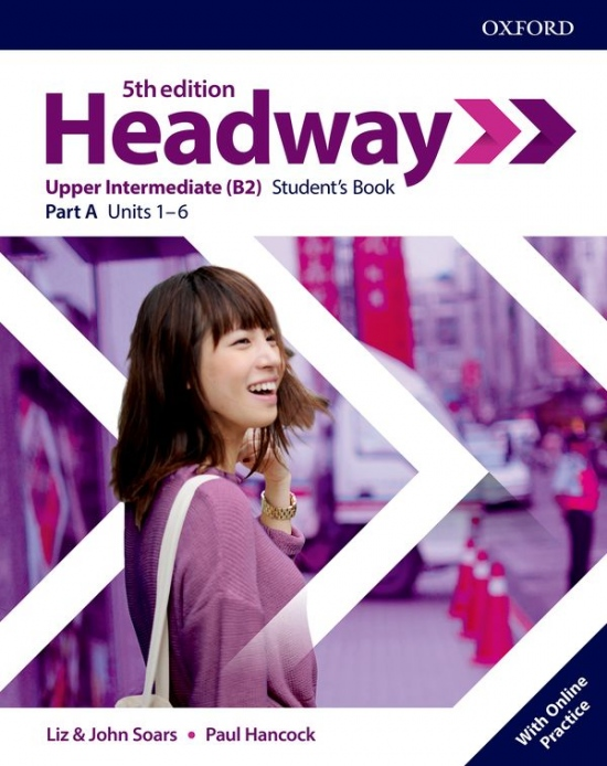 New Headway Fifth Edition Upper Intermediate Student´s Book A with Online Practice