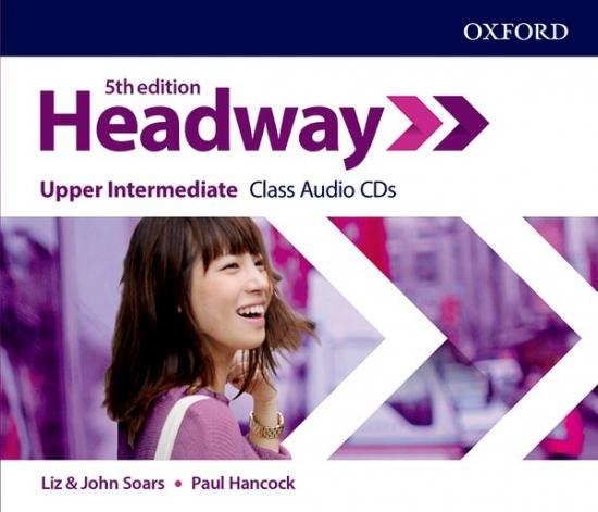 New Headway Fifth Edition Upper Intermediate Class Audio CDs (4)