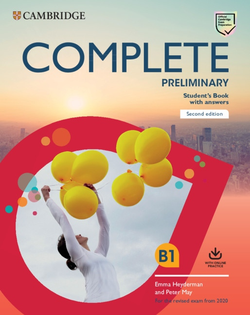 Complete Preliminary PET (2020 Exam) Student´s Book with Answers with Online Practice
