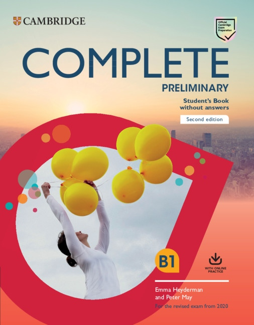 Complete Preliminary PET (2020 Exam) Student´s Book without Answers with Online Practice