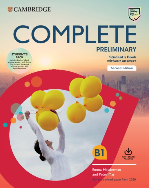 Complete Preliminary PET (2020 Exam) Student´s Pack (Student´s Book without Answers with Online Practice & Workbook without Answers with Audio)