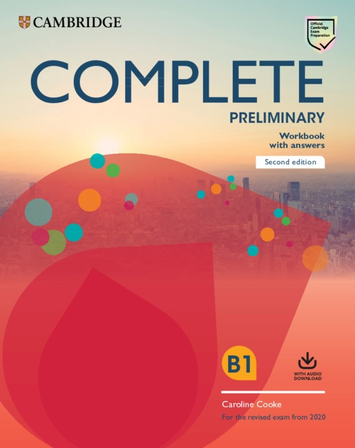 Complete Preliminary PET (2020 Exam) Workbook with Answers with Audio Download