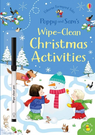Poppy and Sam´s wipe-clean Christmas activities : 9781474962599