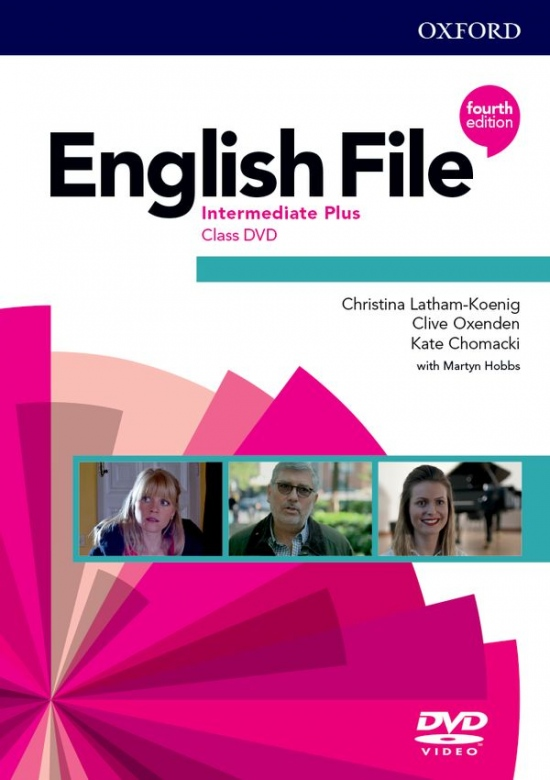English File Fourth Edition Intermediate Plus Class DVD