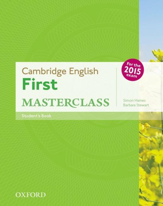 Cambridge English First Masterclass Student´s Book : 9780194502832