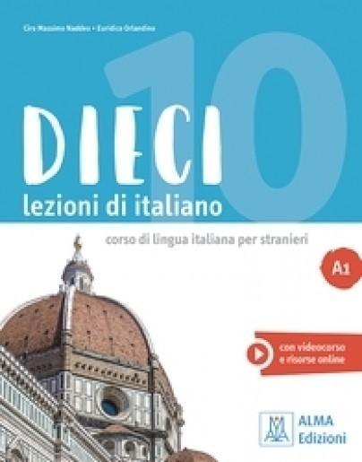 Dieci A1 Libro + DVD : 9788861826311