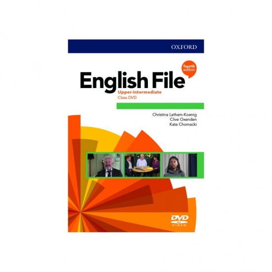 English File Fourth Edition Upper Intermediate Class DVD
