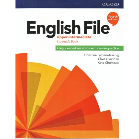 English File Fourth Edition Upper Intermediate Student´s Book with Student Resource Centre Pack CZ