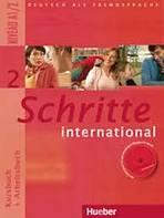 Schritte international 2 Paket ( Kursbuch, Arbeitsbuch, CZ Glossar)