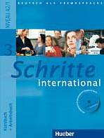 Schritte international 3 Kursbuch + Arbeitsbuch mit Audio-CD zum Arbeitsbuch : 9783190018536