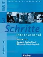 Schritte international 3 Glossar XXL Deutsch-Tschechisch
