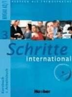 Schritte international 3 Paket ( Kursbuch, Arbeitsbuch, CZ Glossar)
