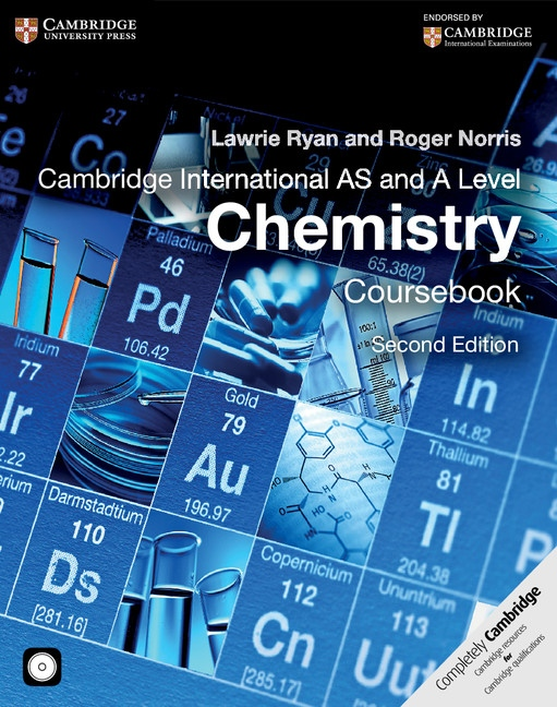 Cambridge International AS and A Level Chemistry Coursebook with CD-ROM : 9781107638457