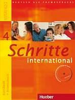 Schritte international 4 Kursbuch + Arbeitsbuch mit Audio-CD zum Arbeitsbuch