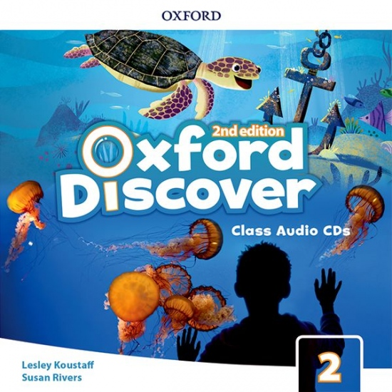 Oxford Discover Second Edition 2 Class Audio CDs (3)