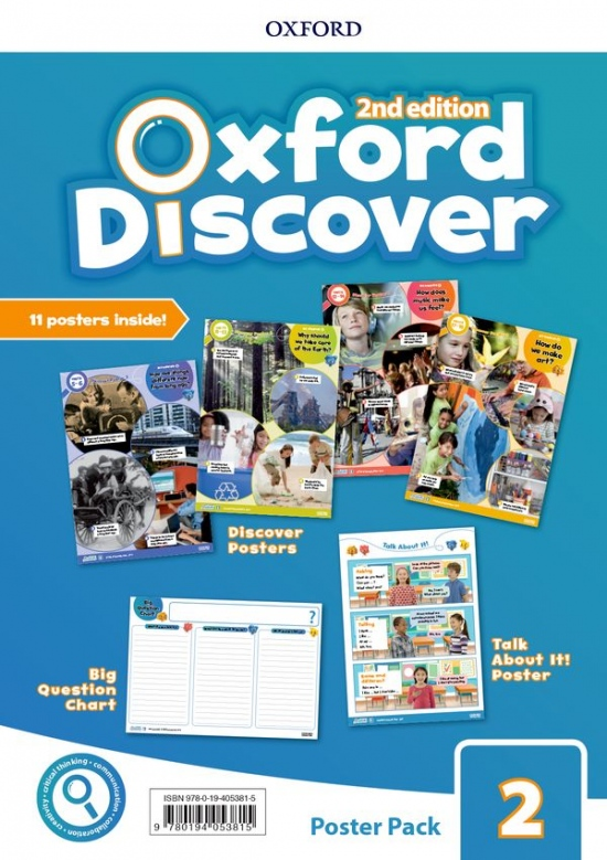 Oxford Discover Second Edition 2 Posters
