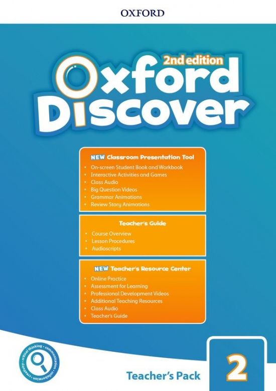 Oxford Discover Second Edition 2 Teacher´s Pack with Classroom Presentation Tool