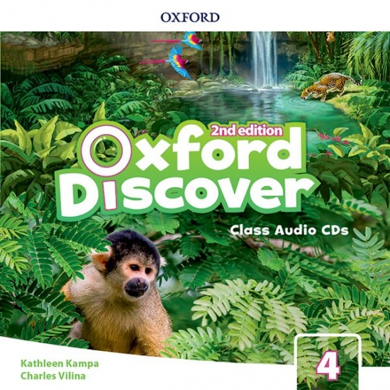 Oxford Discover Second edition 4 Class Audio CDs (3)