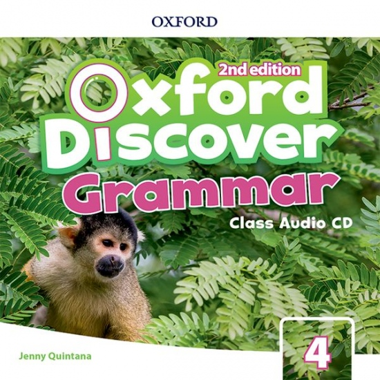 Oxford Discover Second Edition 4 Grammar Class Audio CD