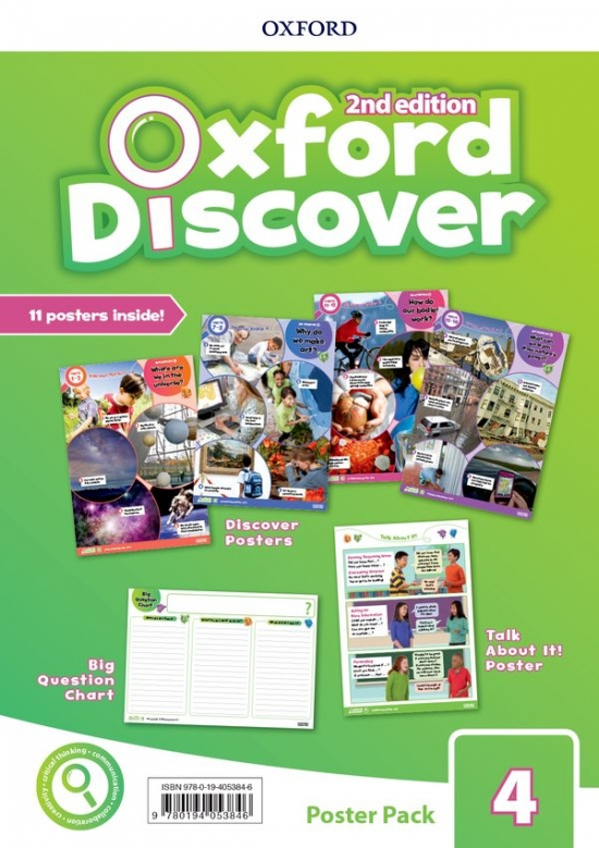 Oxford Discover Second Edition 4 Posters