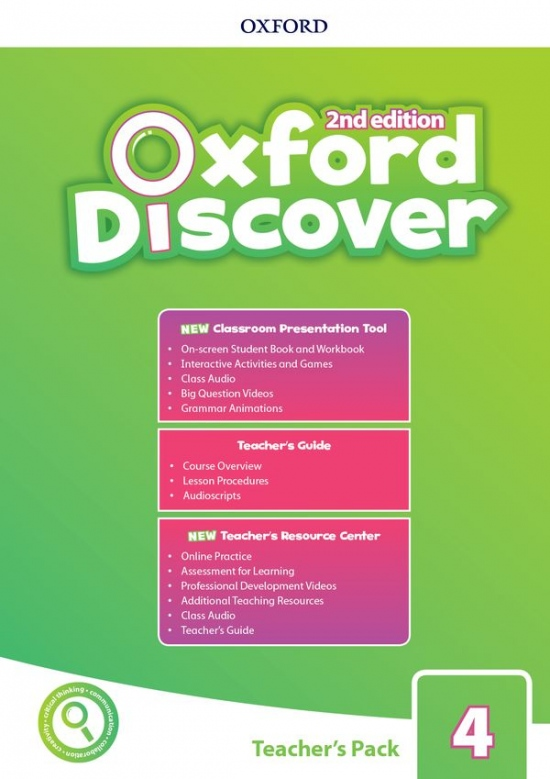 Oxford Discover Second Edition 4 Teacher´s Pack with Classroom Presentation Tool
