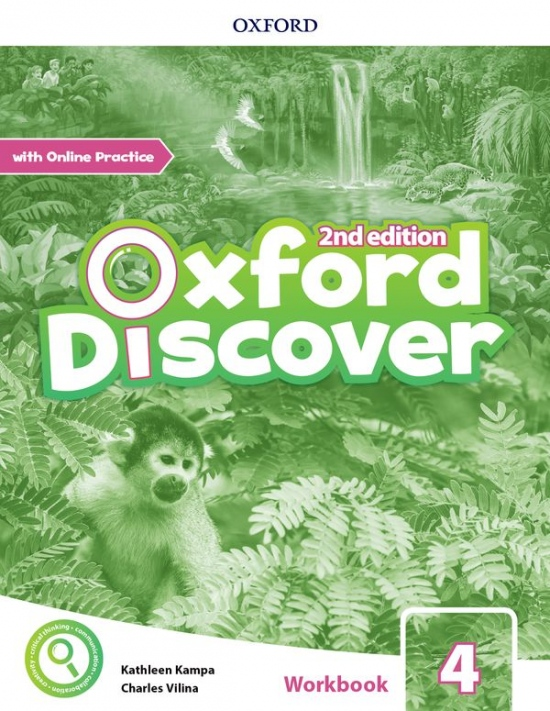 Oxford Discover Second Edition 4 Workbook with Online Practice : 9780194053983