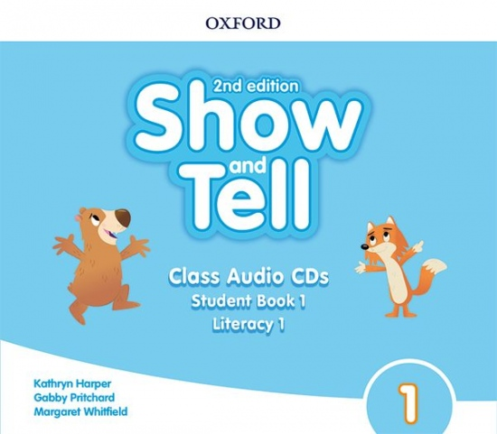 Oxford Discover: Show and Tell Second Edition 1 Class Audio CDs /2/