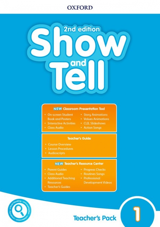 Oxford Discover: Show and Tell Second Edition 1 Teacher´s Book