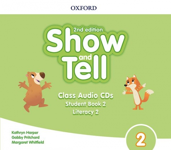 Oxford Discover: Show and Tell Second Edition 2 Class Audio CDs /2/