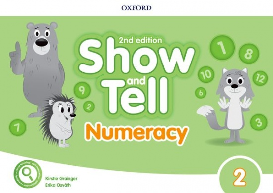 Oxford Discover: Show and Tell Second Edition 2 Numeracy Book : 9780194054836
