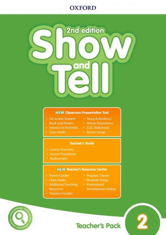 Oxford Discover: Show and Tell Second Edition 2 Teacher´s Book