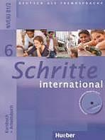 Schritte international 6 Kursbuch + Arbeitsbuch mit Audio-CD zum Arbeitsbuch : 9783190018567